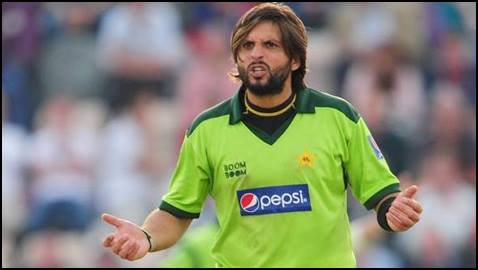 """SATIRE: Only a plane crash can keep me out of the team,"""" says Afridi"""