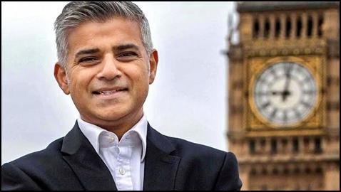 Sadiq Khan, London's first Muslim Mayor