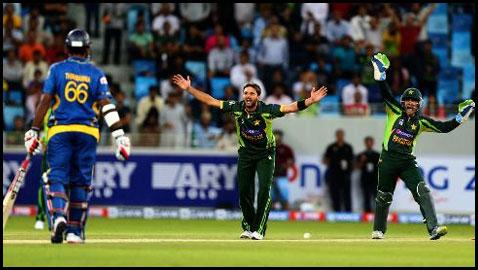Pakistan versus Sri Lanka