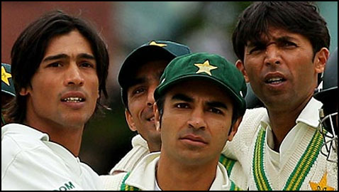 Asif, Amir and Butt: The tainted trio is back