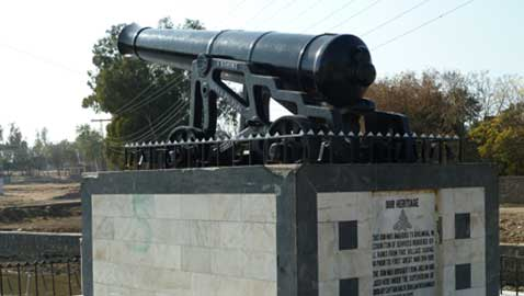 Historic Dulmial Cannon Celebrates 200 years