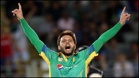 Afridi's Return To Form Defeats New Zealand