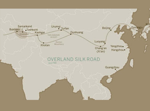 To China in the footsteps of Marco Polo