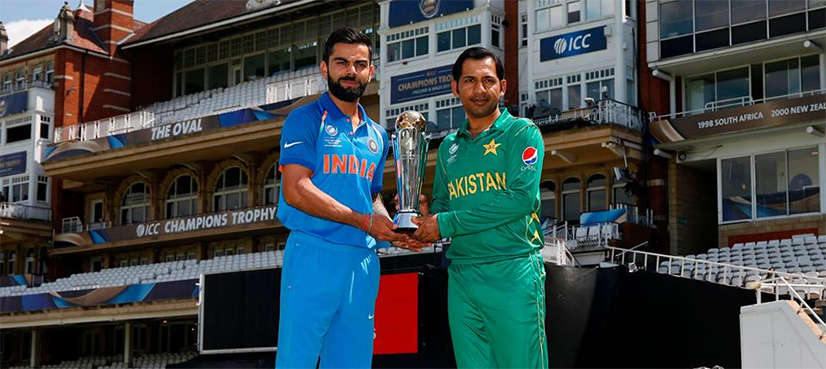 Pakistan versus India Champions Trophy Final…. Just another game?